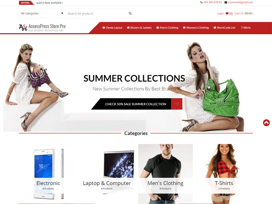 AccessPress Store Pro - Best WordPress eCommerce Theme