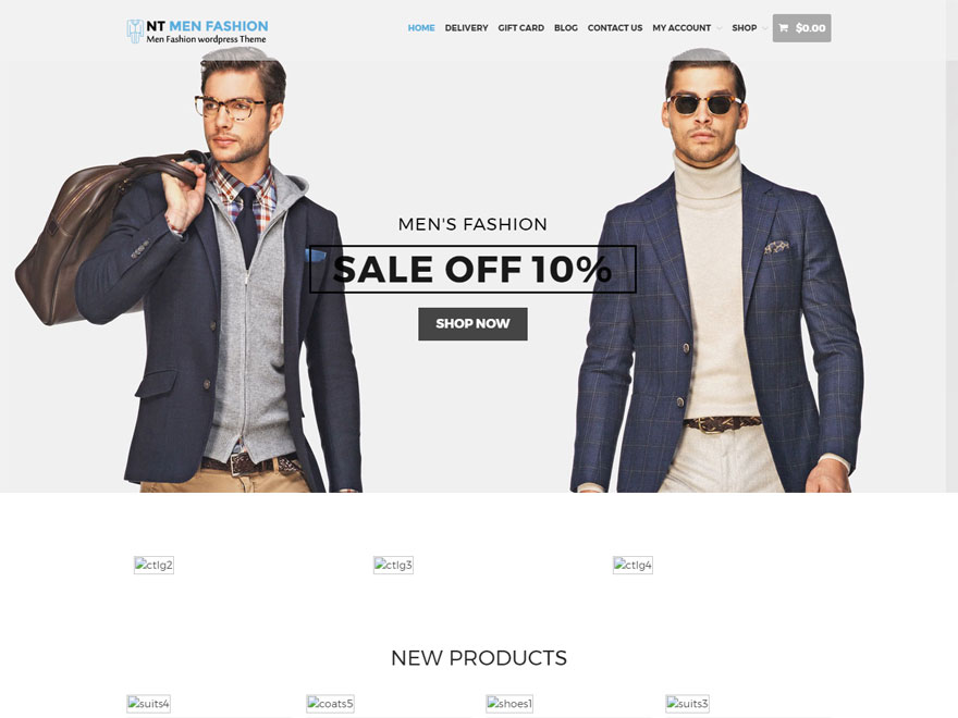 NT-Fashion - Best WordPress eCommerce Theme