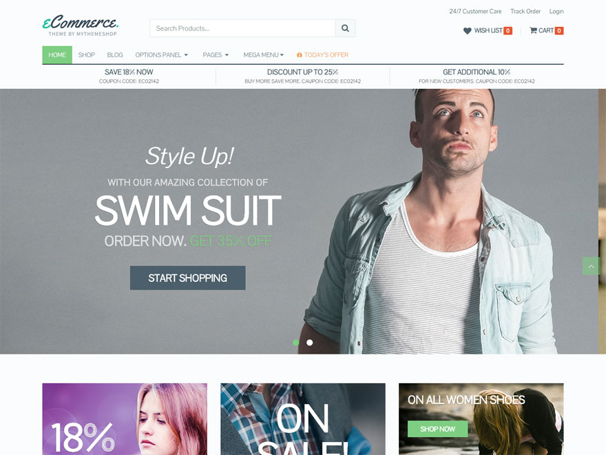 eCommerce - Best WordPress eCommerce Theme