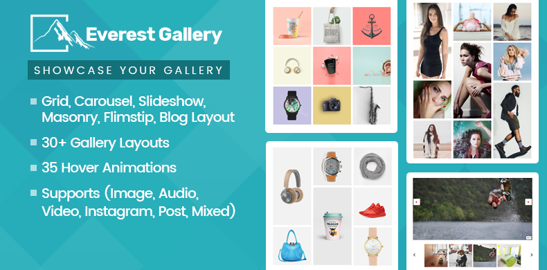 Responsive WordPress Gallery Plugin – Everest Gallery