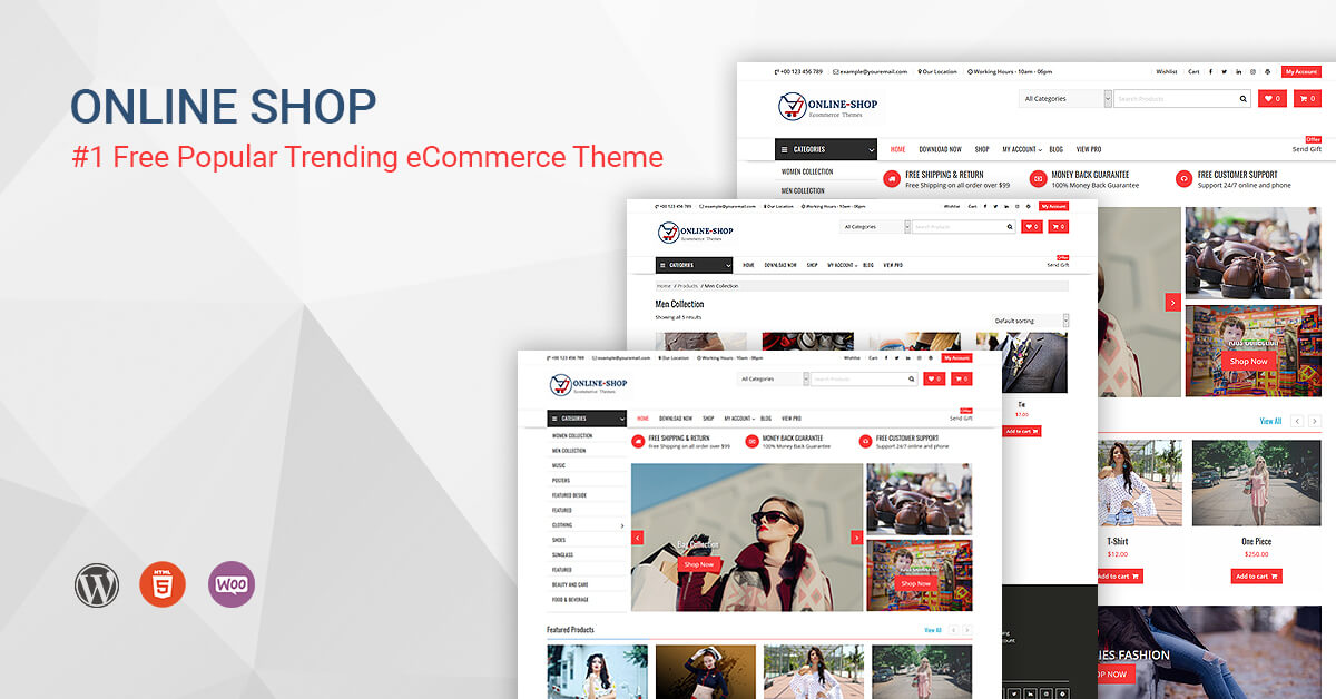 onlineshop best woocommerce theme
