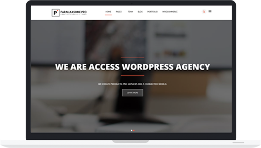 Multipurpose WordPress Theme – ParallaxSome Pro