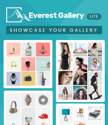 Responsive Free WordPress Gallery Plugin - Everest Gallery Lite
