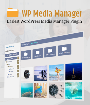 Easiest WordPress Media Manager Plugin – WP Media Manager