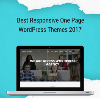 21+ Best Responsive One Page WordPress Themes