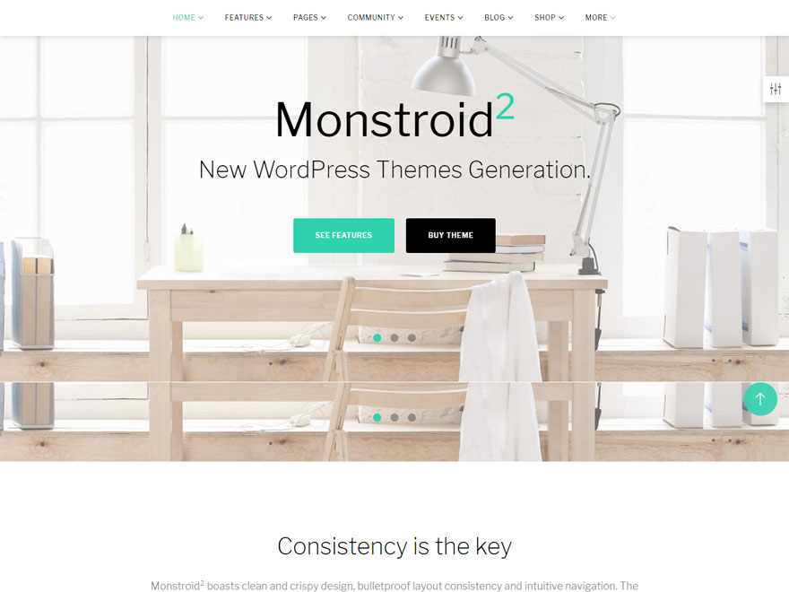 Monstroid 2 - Best Responsive One Page WordPress Themes