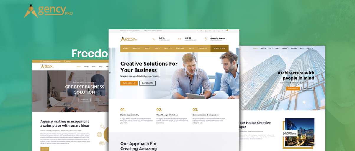 agency pro business theme