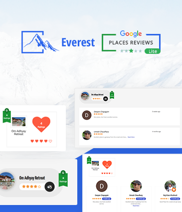 Best WordPress Free Plugin To Showcase Google Places / Business Reviews - Everest Google Places Reviews Lite