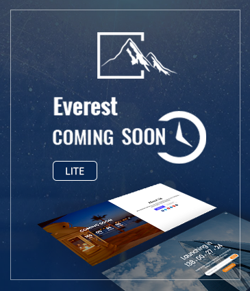 Ultimate Coming Soon, Maintenance Mode Plugin for WordPress - Everest Coming Soon Lite