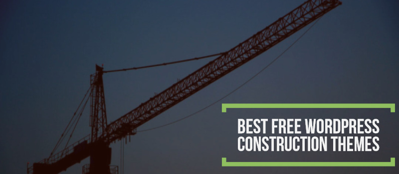 Top 10 Best Free Construction WordPress Themes