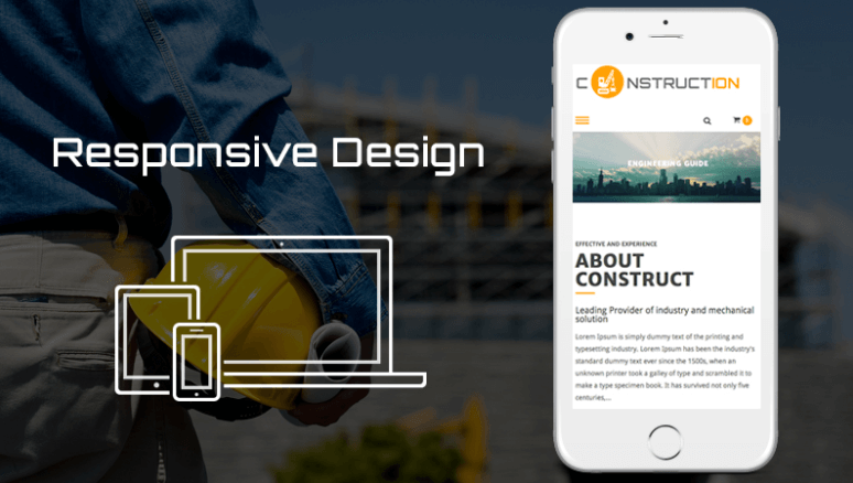 Construction Lite Feature - Responsive Design
