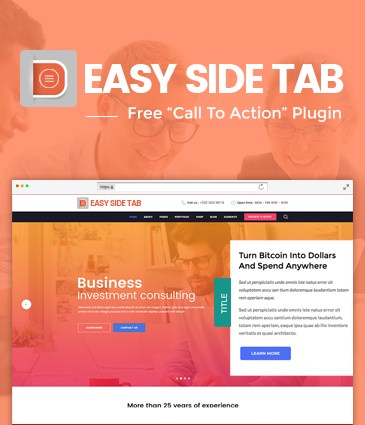 CTA Plugin For WordPress – Easy Side Tab