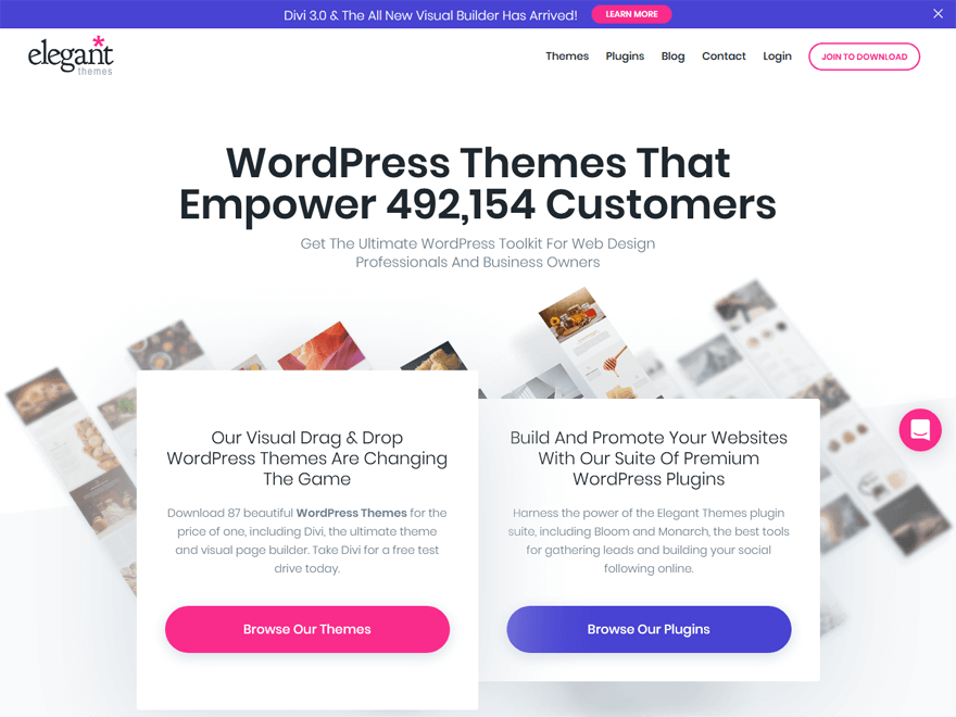 Divi-Fastest Loading WordPress Themes