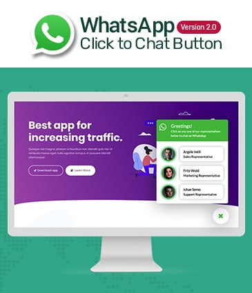 Premium WhatsApp Button Plugin for WordPress - WP WhatsApp