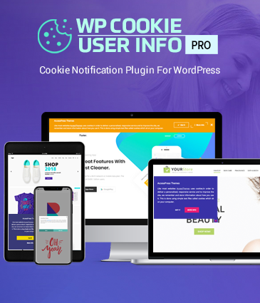Cookie Notification Plugin for WordPress – WP Cookie User Info Pro