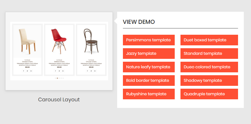 wp product gallery caraousel layout
