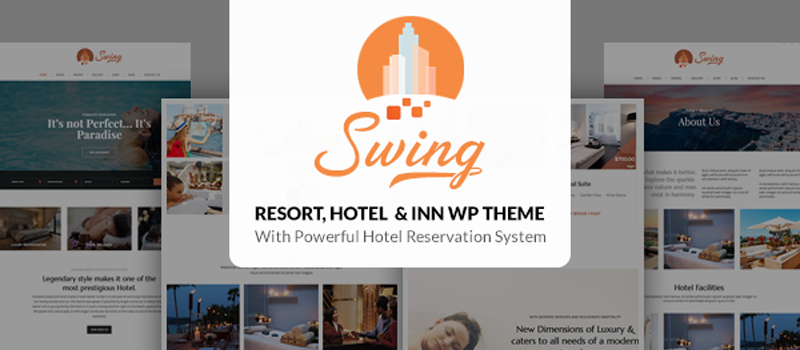 Swing - Best Resort and Hotel WordPress Theme