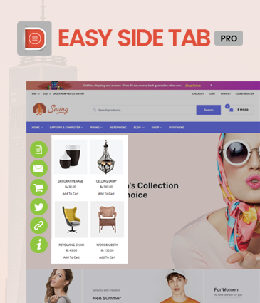 Easy Side Tab Pro – CTA Plugin For WordPress