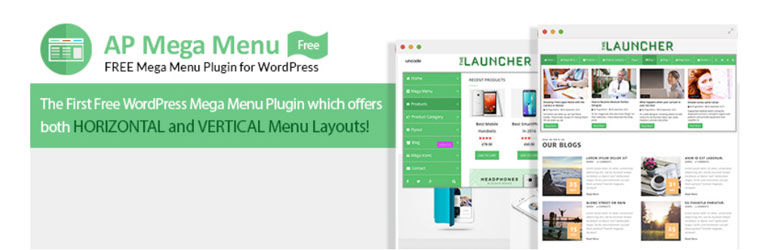 Mega Menu Plugin for WordPress – AP Mega Menu