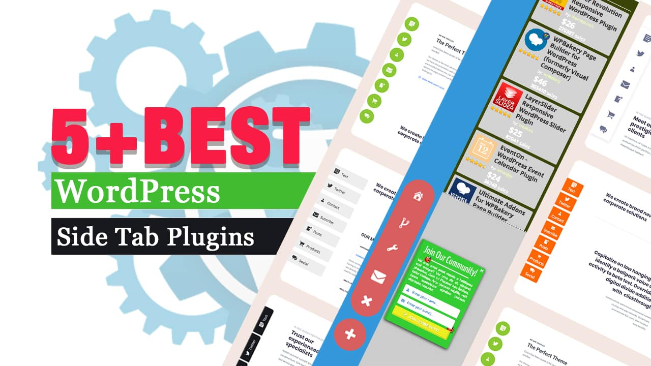 5+ Best Floating Side-Tab, Bar Plugins for WordPress
