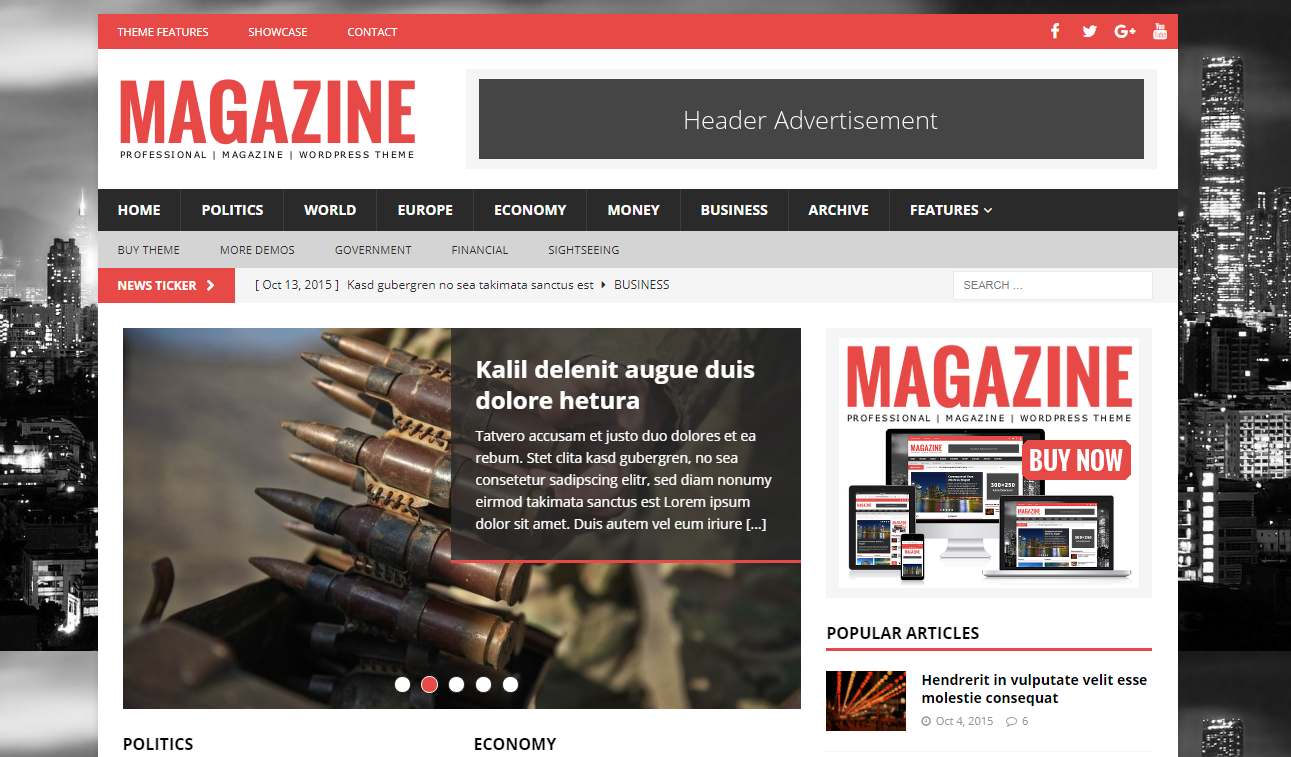 MH Magazine - Best Premium Adsense Optimized WordPress Themes