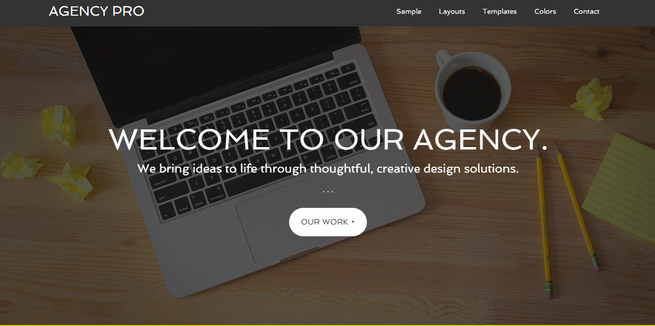 Agency Pro - Premium Agency WordPress Themes Templates