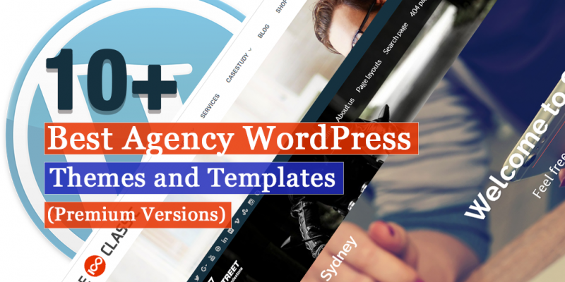 10+ Best  Agency WordPress Themes and Templates (Premium Listing)