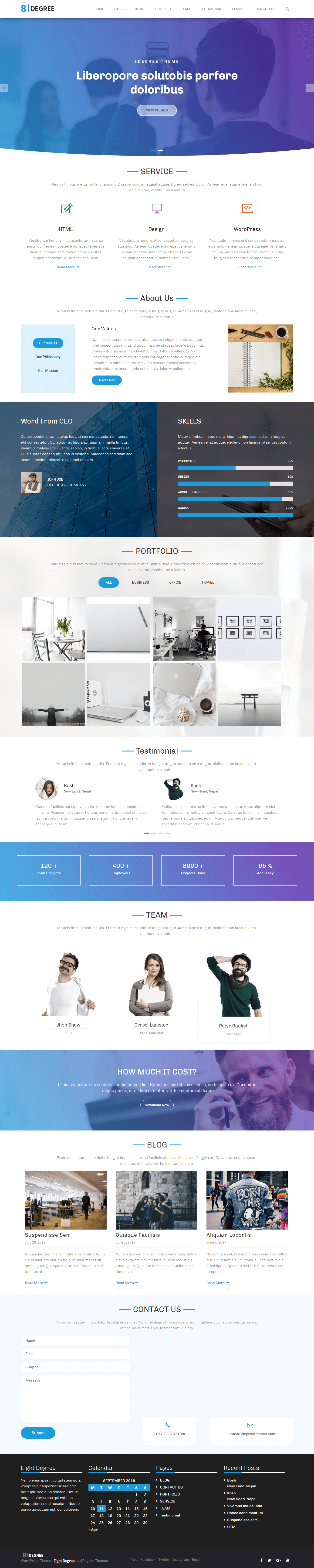10 Best Free Agency Wordpress Themes And Templates