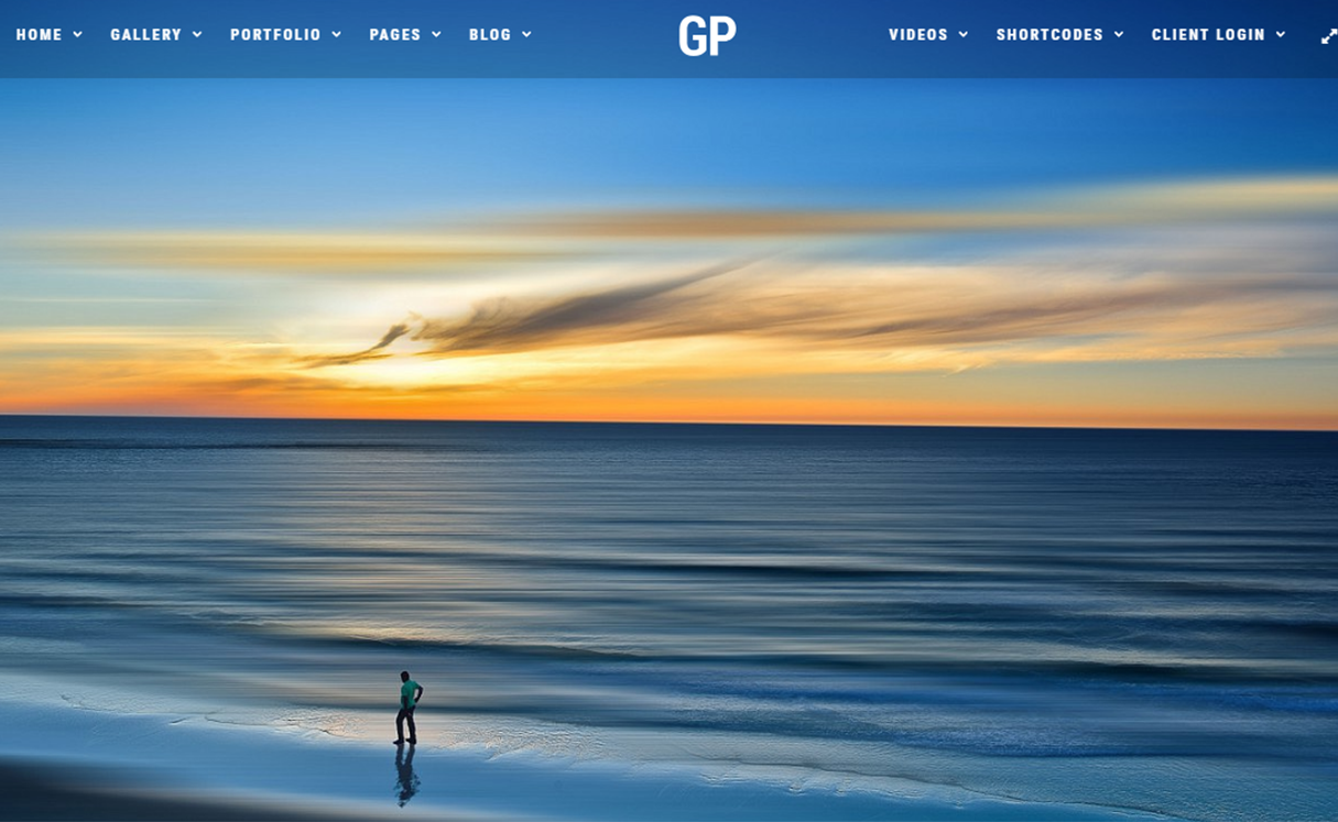 Grand Photography - Premium Photography WordPress Themes