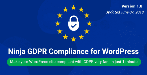 Best WordPress GDPR Compliance Plugins: Ninja GDPR Compliance
