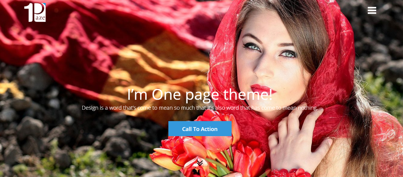 OnePaze- Best Free One Page WordPress Themes and Templates