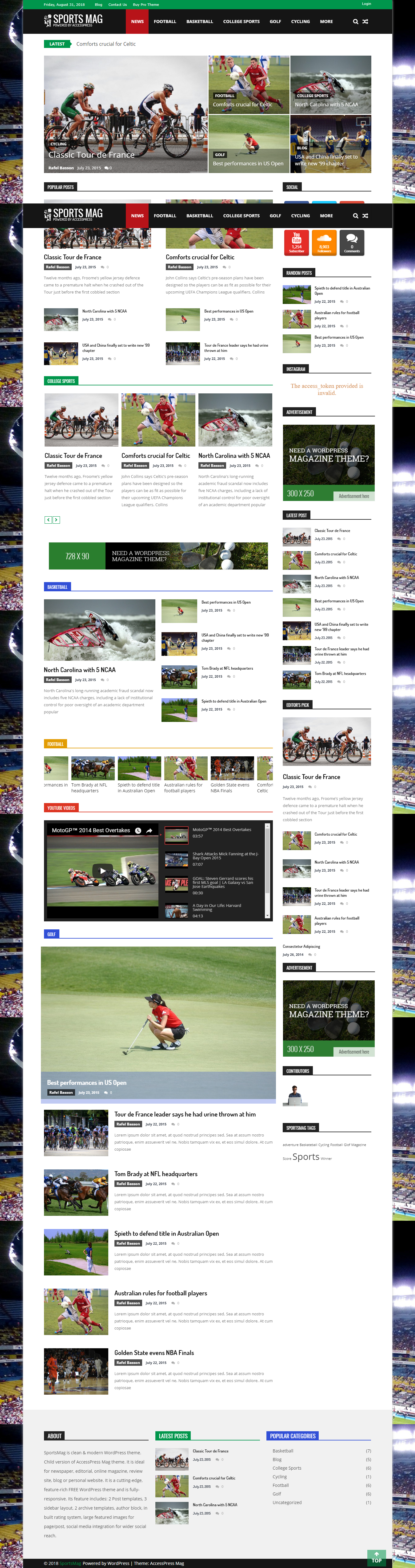 Sports Ticker Widget For Website