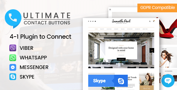 Best WordPress Skype Contact Button Plugins: Ultimate Contact Buttons