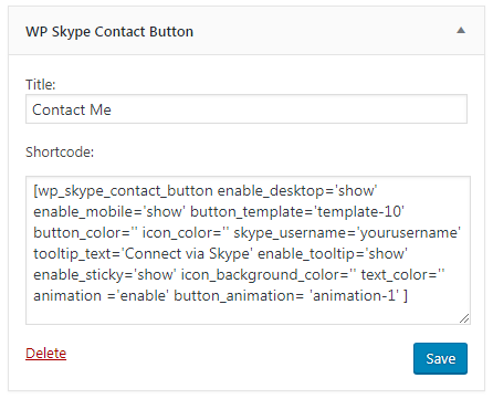 How to add Live Skype Chat/Call Button on your WordPress Website