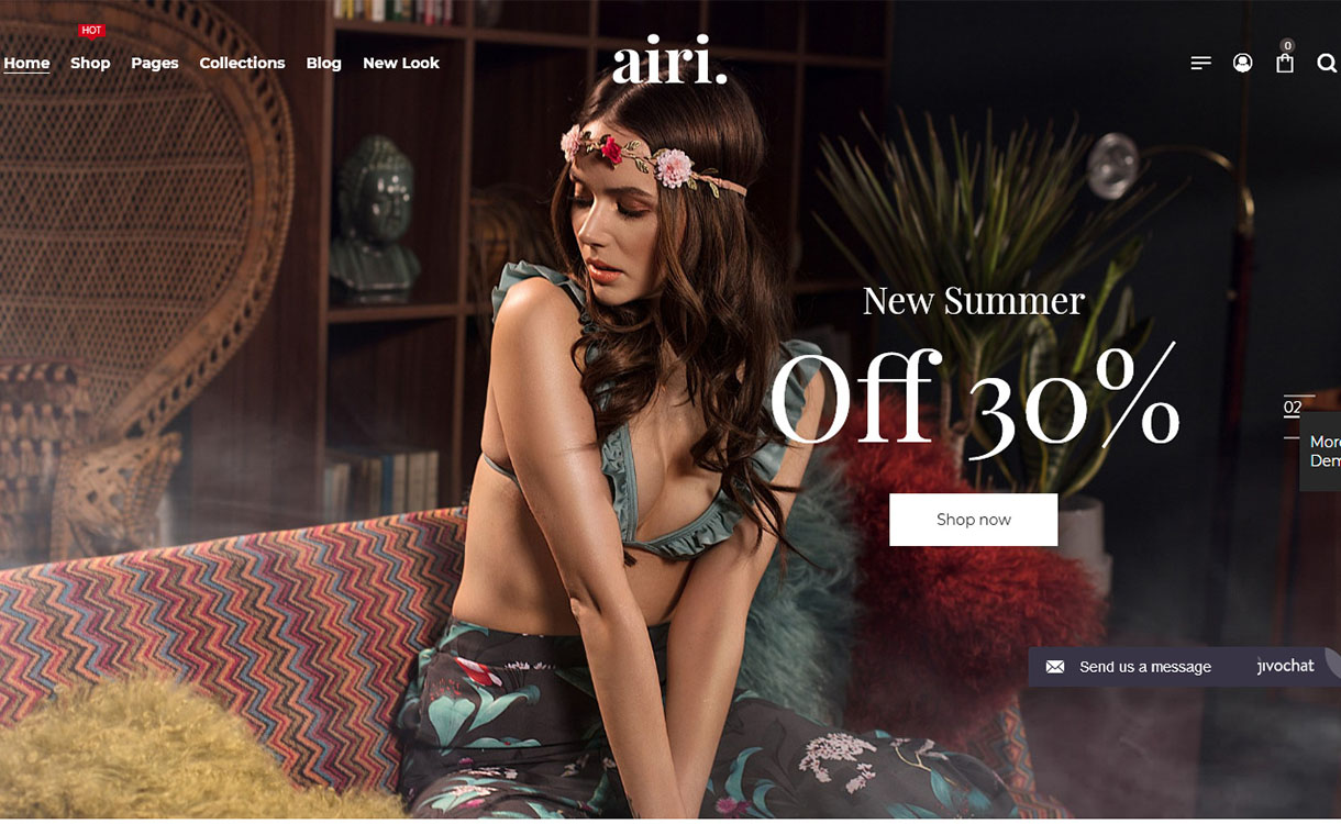 airi-best-minimal-wordpress-theme