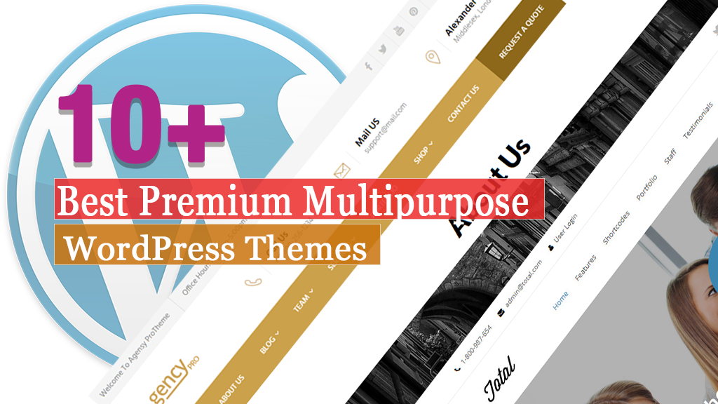 Best Premium Multipurpose WordPress Themes