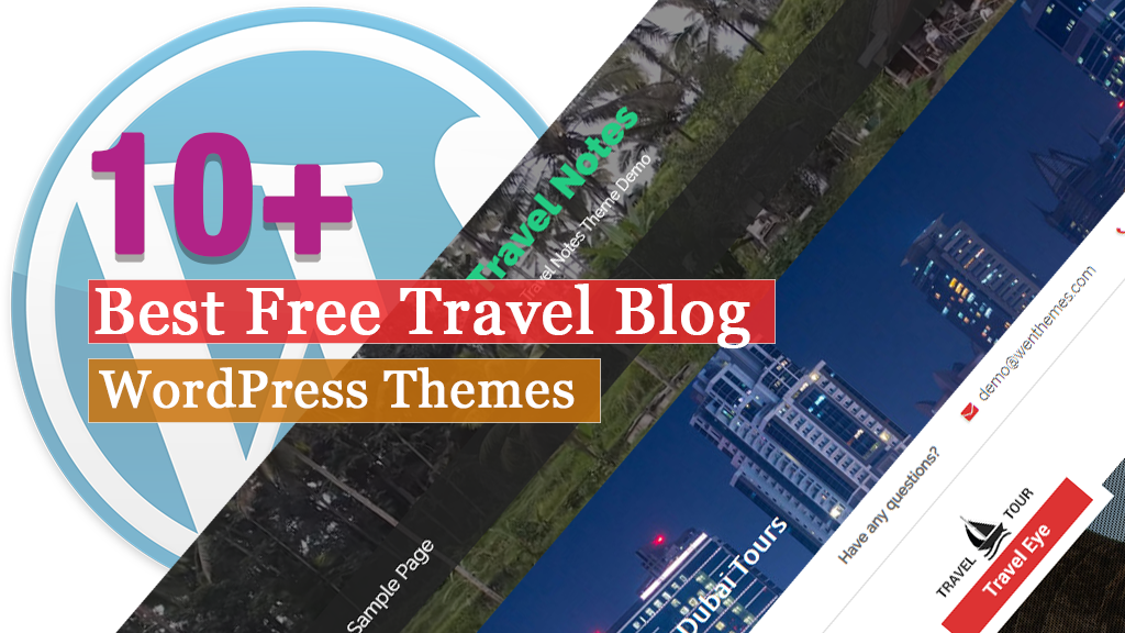 Best Free WordPress Travel Blog Themes