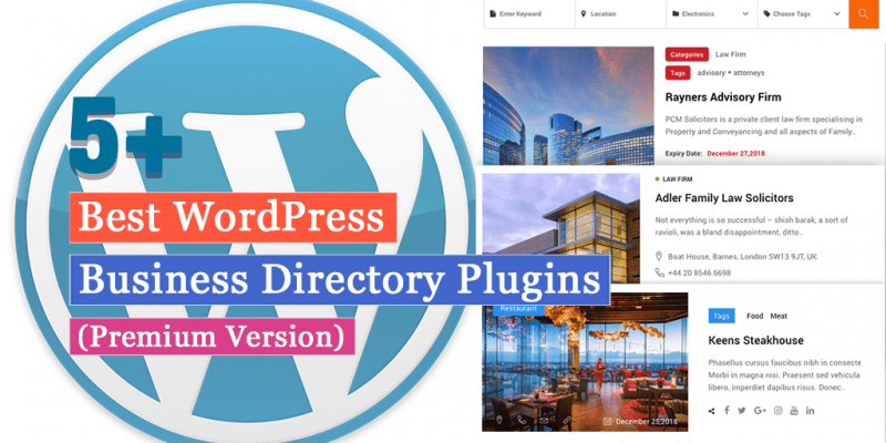 5+ Best WordPress Business Directory Plugins (Premium Version)