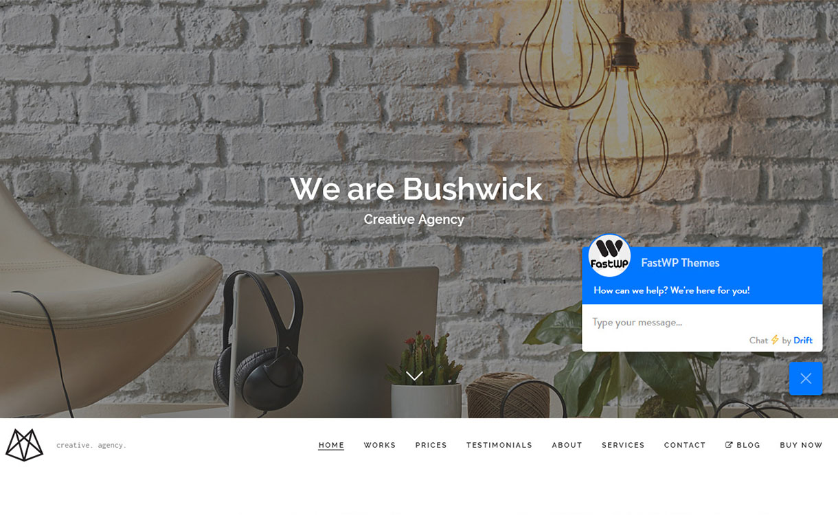 bushwick-best-minimal-wordpress-theme