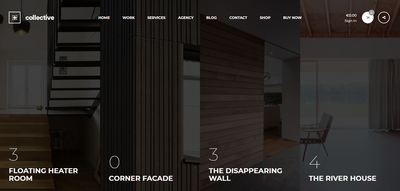 Collective – Best Premium Minimal WordPress Theme