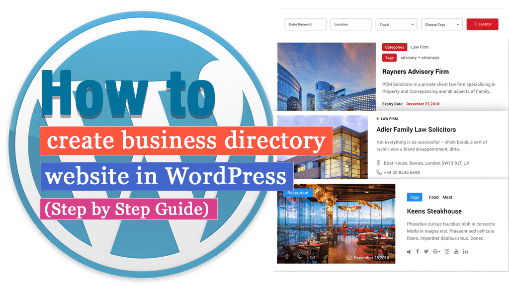 How to create business directory website in WordPress? (Step by Step Guide)