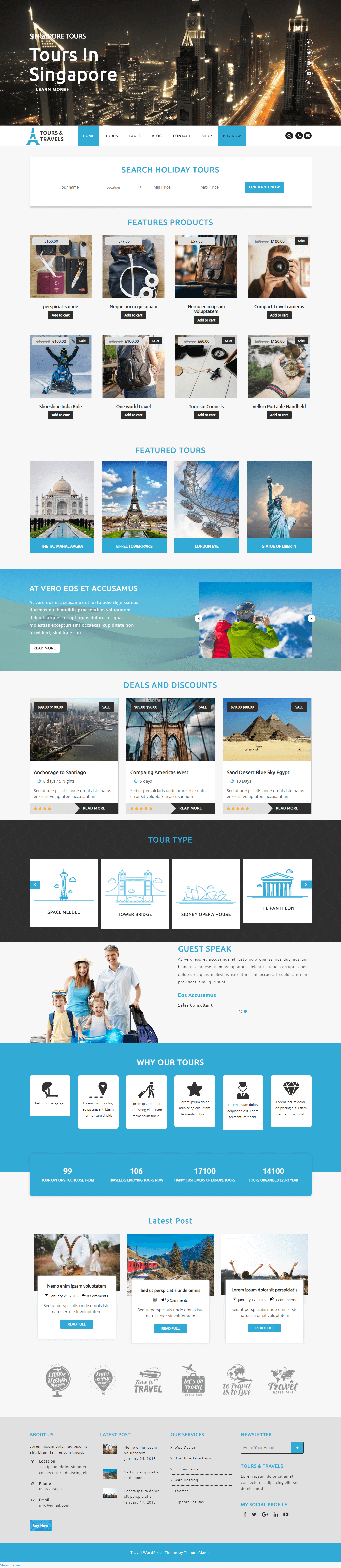 10+ Best Free WordPress Travel Blog Themes 2019