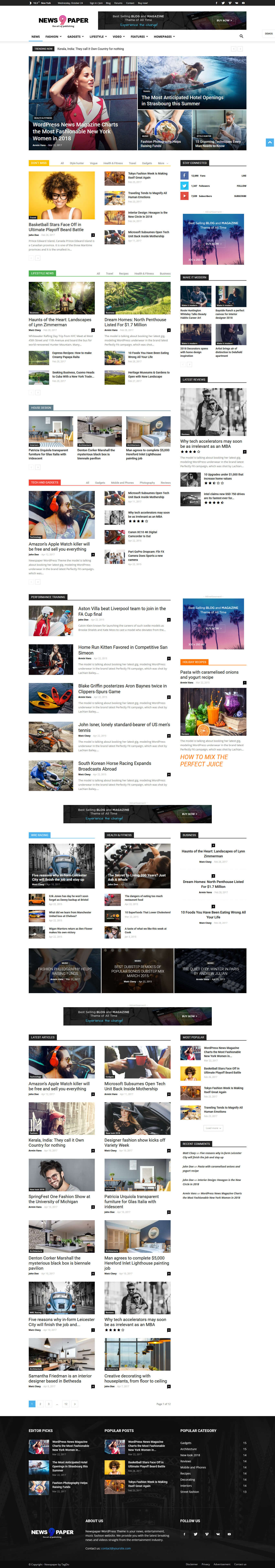 newspaper best premium gdpr friendly wordpress theme - 10+ Best Premium GDPR Friendly WordPress Themes