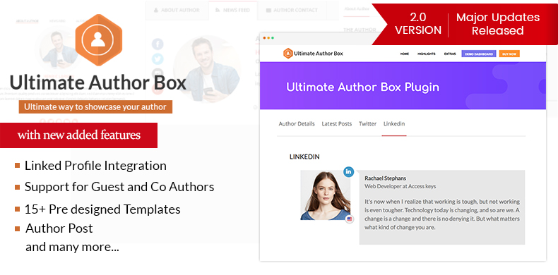 Responsive Post/Article Author Section Plugin for WordPress