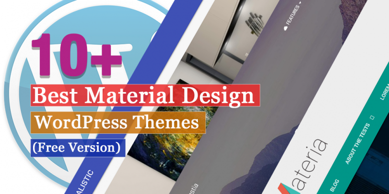 10+ Best Free Material Design WordPress Themes