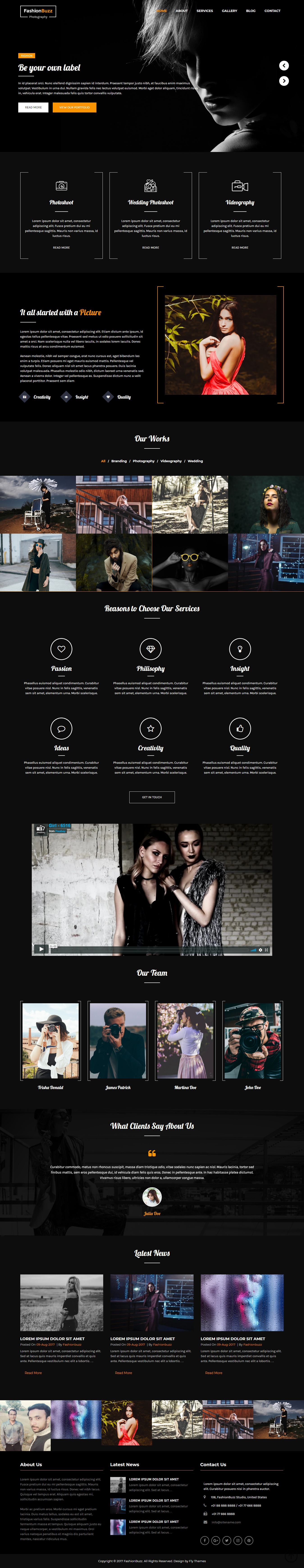 FashionBuzz - Best Free Fashion WordPress Theme