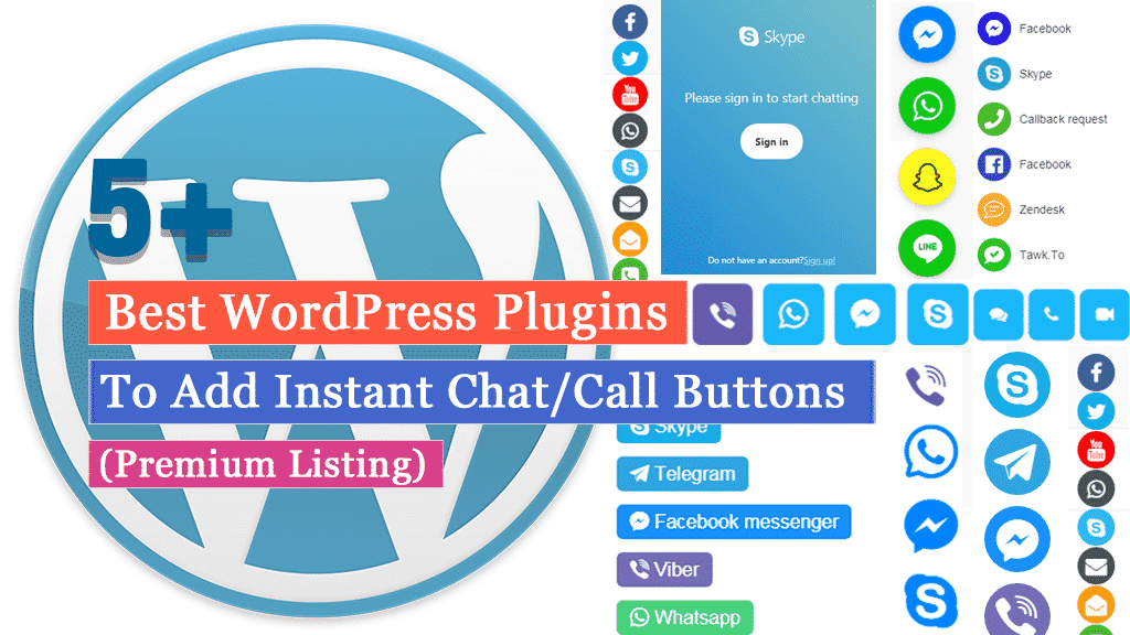 Best WordPress Plugins to Add Instant Chat/Call Buttons (Premium Listing)