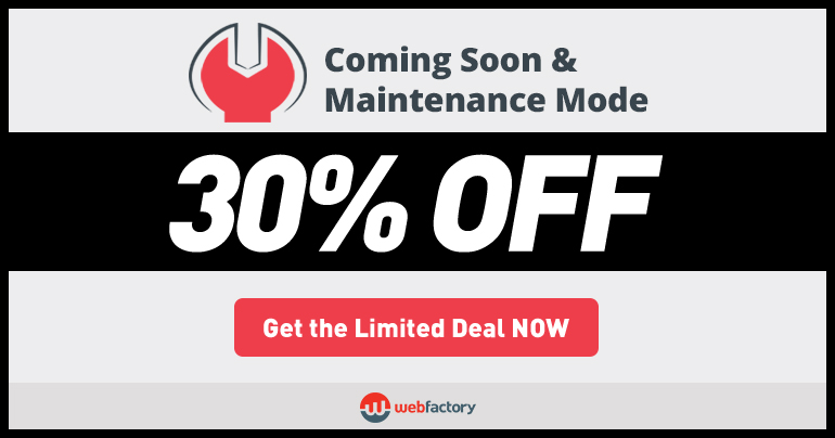 coming-soon-and-maintenance-mode-black-friday-cyber-monday