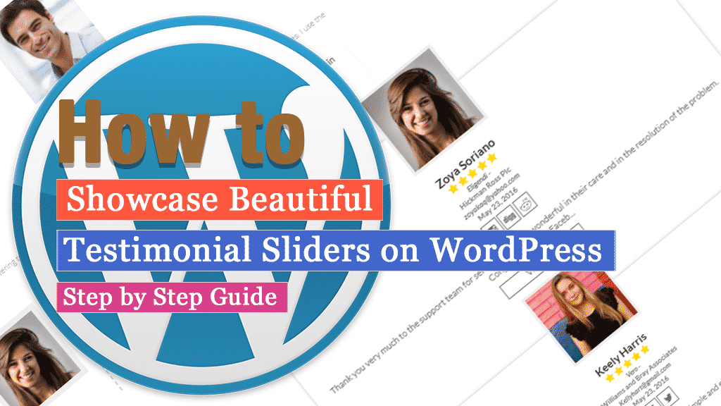 How to showcase beautiful testimonial sliders on WordPress? (Step by Step Guide)