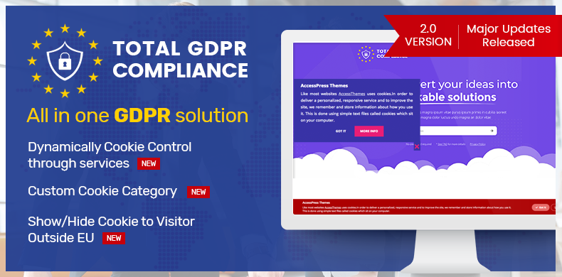 WordPress Plugin to make your site EU GDPR compatible (All in one GDPR Solution) – Total GDPR Compliance